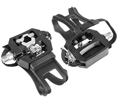Wellgo E229 Shimano SPD Compatible 9/16' Thread Spin Bike Pedals