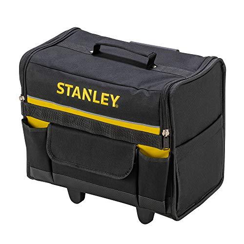 STANLEY 1-97-515 - Bolsa rígida con ruedas, 44.5 x 25.5 x 42 cm