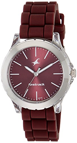 Fastrack Trendies Analog Red Dial Women's Watch NM68009PP06/NN68009PP06