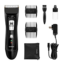 SUPRENT Cordless Hair Clippers for Men