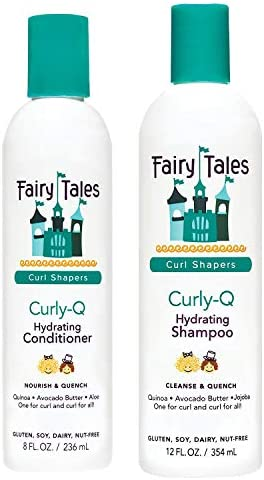 Fairy Tales Hair Care Curly Q Curly Hair Shampoo and Conditioner Set Hydrating Paraben Free product image