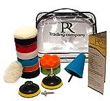 PR trading company - Set di punte per lucidatura per trapano e avvitatore a batteria – C...
