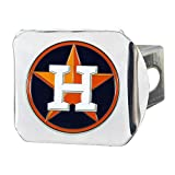 FANMATS 26597 MLB - Houston Astros Color Hitch Cover - Chrome