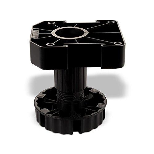 20er Set SO-TECH® Möbelfuß Sockelfuß Stellfuß 100 mm verstellbar