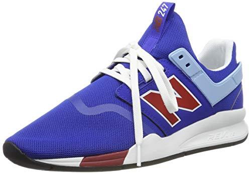 New Balance Herren 247v2 Deconstructed Sneaker, Blue Team Royal Team Royal, 44 EU