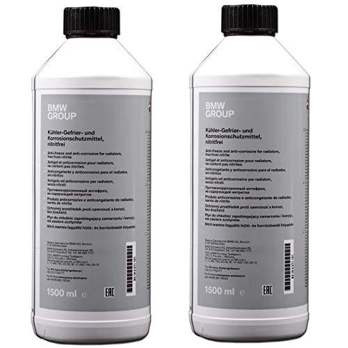 Original BMW Kühlerfrostschutz blau/grün - 2x 1,5 Liter Flasche