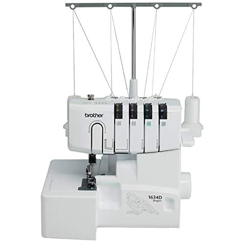Brother R1634D Serger, Metal Frame Overlock Machine, 1,300 Stitches...