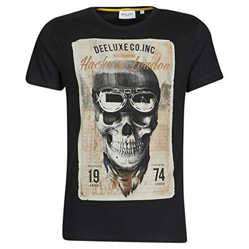 DEELUXE Clem Tops y Camisetas Hommes Negro - S - Camisetas Manga Corta