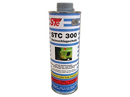 STC 300 Steinschlagschutz 1 L nass in nass überlackierbar, UBS Unterbodenschutz auf Kunststoffbasis (hell/grau)