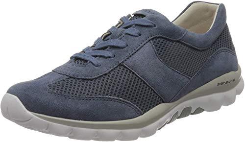 Preisvergleich Produktbild Gabor Shoes Damen Rollingsoft Sneaker,  Blau (Nautic 26)