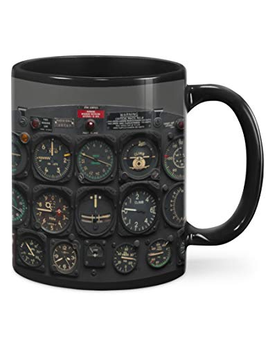 Pilot Indicator Mug Funny Gifts Wedding Anniversary Birthday Christmas Love Gifts For Men Women 11Oz,15Oz Coffee Mug