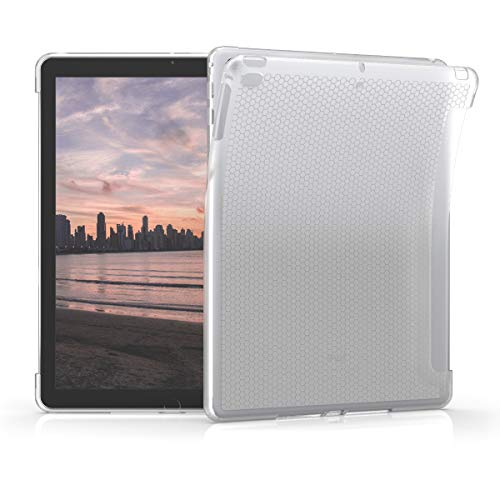 kwmobile Hülle kompatibel mit Apple iPad Air/Air 2 / iPad 9.7 (2017/2018) - Tablet Cover - Tab Case Silikon Schutzhülle in Matt Transparent