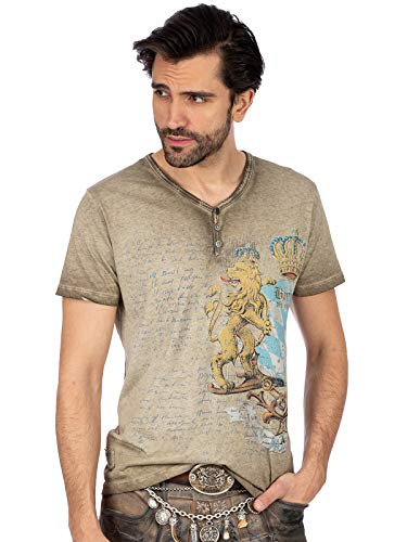 Stockerpoint Herren Bene T-Shirt, Sand, XL