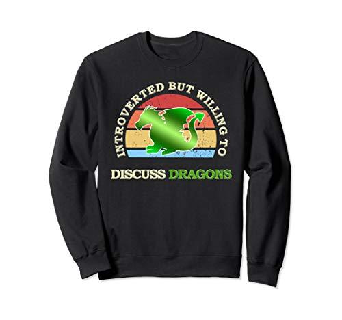 Drachen Spruch   Lustiges Dragon Spruch Fabelwesen Geschenk Sweatshirt