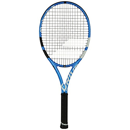 Babolat 2019 Pure Drive Team Tennis Racquet - Choice of String Color (Black String, 4-1/2)