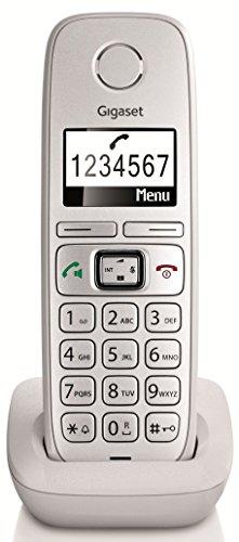 Gigaset E310H Dect-Großtasten-Schnurlostelefon, zusätzliches Mobilteil, weiß