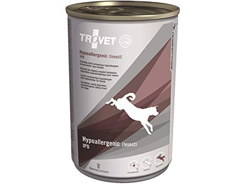Trovet Hypoallergenic IPD (Insect) Hund - 6 x 400 g Dosen