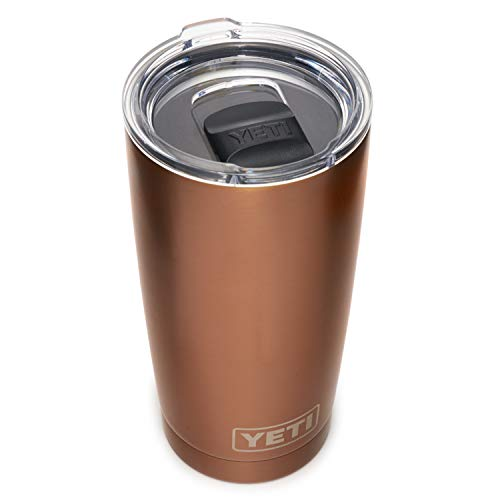 YETI Rambler 20 oz Tumbler, Stainless Steel, Vacuum Insulated with MagSlider Lid, Copper