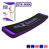 Ballet Turning Board for Dance and Figure Skating(Purple Without a Carrying Bag and a Box)