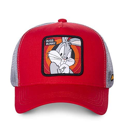 Capslab CL-LOO-1-BUG1 Gorra, Rojo, Talla única para Hombre