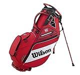 Wilson Staff Carry - Bolsa de golf, color rojo y blanco, OSFA