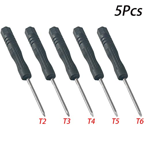 Torx-schroevendraaierset, T2 T3 T4 T5 T6 reparatie precisie gereedschapsset torx-schroevendraaier voor mobiele telefoons