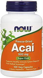 NOW Foods Acai, 500mg - 100 Cápsulas