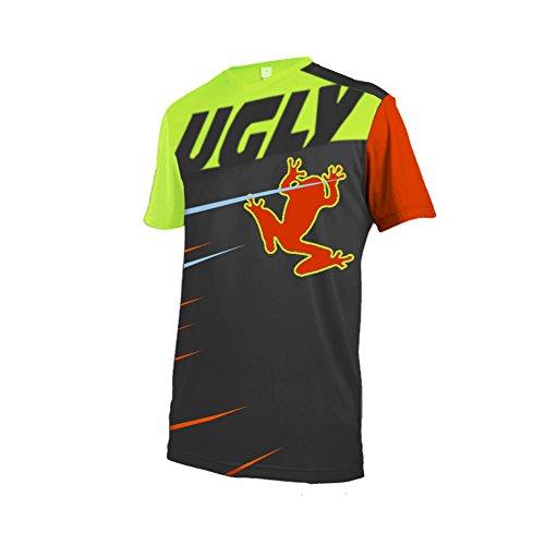 Uglyfrog Downhill Jersey Heren Fietsen Kleding Korte Mouwen Fietsshirt Zomer Ademend Sneldrogend MTB DH SJFL01