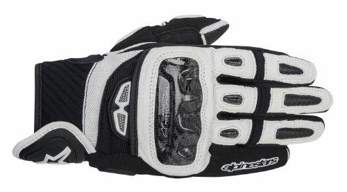 Alpinestars Gp Air Handschuhe Schwarz Weiß XXL