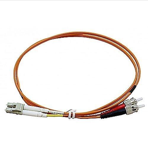 DigitX.it Cable de fibra óptica – Cable LC ST Multimodo Duplex naranja...