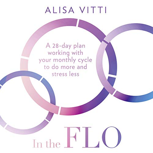 In the FLO audiobook cover art