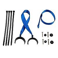 カバーとモールディング フロントリアストラップ保持リフティングハンドル耐裂性フィット感のためにハスクバーナTC TE TX FC FE FX 125 250 300 I 350 400 450 501 S 2014年から2018年 (Color : Blue)