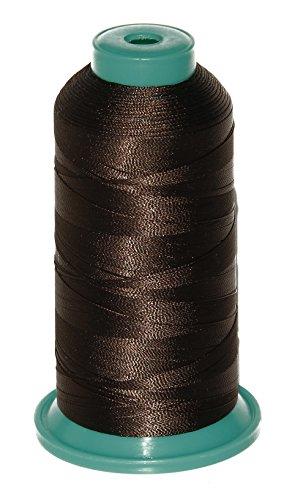 Ms Fenda 1800 Yard Elastic Nylon Sewing Thread for Wig Makers (Dark Brown)
