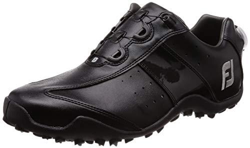 [フットジョイ] ゴルフシューズ EXL スパイクレス Boa メンズ ブラック(18) 25.0 cm 3E