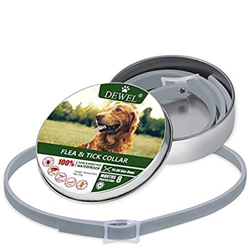 Cane collare antipulci pulci e zecche collare per cani regolabile...