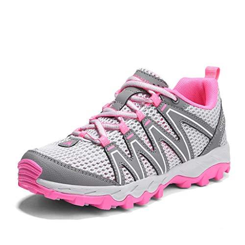 QINHE Zapatillas de Deporte para Mujer, Ligeras, para Mujer, para Correr, Transpirables, para Hombre, Zapatillas de Aire, Deportivas, para Caminar, Gimnasio, Fitness, Jogging, atlético, Informal,E-38