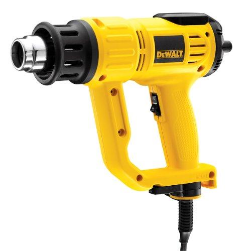 DeWalt D26414-GB 2000W 240V LCD Premium Heat Gun, Yellow Black