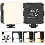 Plartree 68 LED Luce Video Della Fotocamera, 2000mAh RGB USB Ricaricabile 3200-6500K Luminosità, Lampada Fotografica Professionale Dimmerabile, 7 Modalità di Illuminazione per Nikon Sony A7 DSLR (Elettronica)