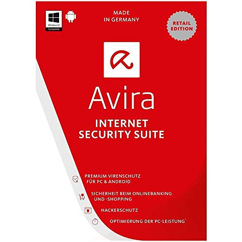 Avira Internet Security Suite 3 Pc 12 mesi - licenza via email