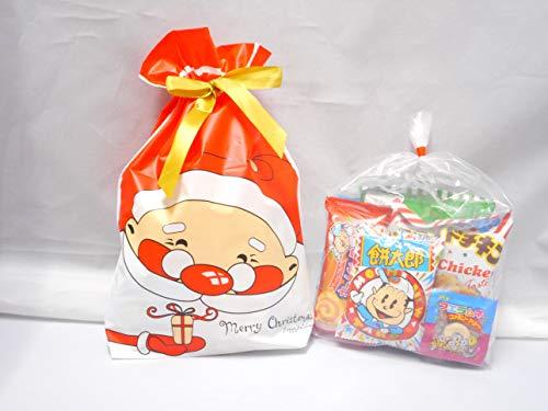 クリスマス サンタ柄 駄菓子 詰め合わせMサイズ/プレゼント/配布/イベント/子ども会