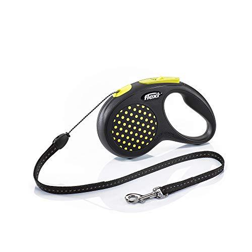 flexi Design S Seil 5 m gelb für Hunde bis 12 kg