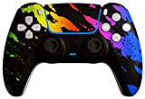 AimControllers Controller PS5 Wireless Personalizzato - Dualsense PS5 - Joystick Sony Playstation 5 - PS5 Controller per PS5 Console - Pad PS5 - Camo Color