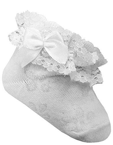 Brand Brand Baby Socken,Sockchen mit Spitze (56/62.15.5-6)
