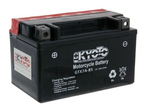 Batterie Kyoto 12V GTX7A-BS MF wartungsfrei für Rex RS 1100 125 4T Bj. 2009-2014 - inkl. 7,50 EUR Batteriepfand