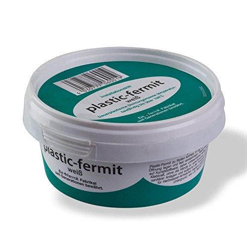 Stabilo-Sanitaer Plastic-fermit Dichtpaste 250g, Dauerplastische Dichtungspaste temperaturbeständig bis 100°C, knetbare Dichtungsmasse Kalt- und Warmwasser geeignet