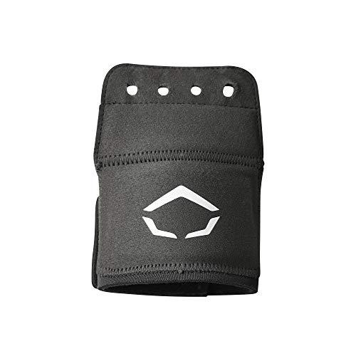 EvoShield Catcher s Wrist Guard - Os, One Size, Black, xx-Large