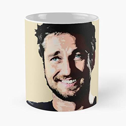 Gerard Butler Celebrities Hottest Guys Movie Stars Famouse - Bestes 11 Unze-Keramik-Kaffeetasse Geschenk