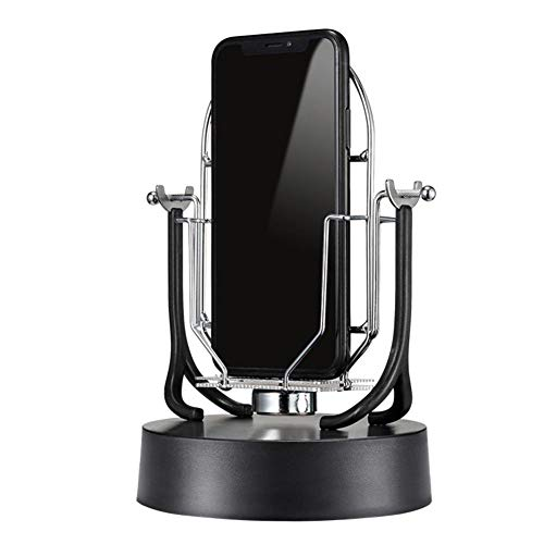 Appareil doscillation automatique du téléphone, balancelle avec support pour téléphone portable, machine électronique de mouvement perpétuel pour œufs de Pokémon ou numéro de pas croissant