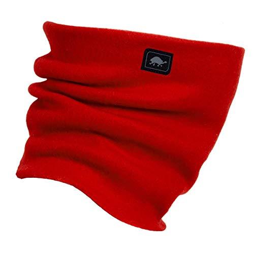 Original Turtle Fur Fleece - The Turtle's Neck, Heavyweight Neck Warmer, Red