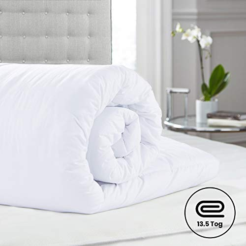 Aspire Homeware Duvet Single 13.5 Tog Anti Allergy Thick Warm Winter Quilt Duvet Energy Efficient UK Made